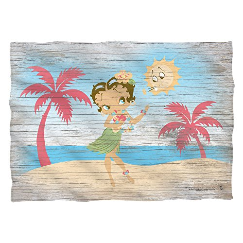 Betty Boop Hula Boop Poly 20X28 Pillow Case White One Size