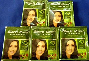 Mehndi Henna For African Hair : Amazon sachet black rose kali mehandi henna herbal