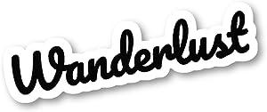 Wanderlust Sticker Travel Wanderlust Stickers - Laptop Stickers - 2.5 Inches Vinyl Decal - Laptop, Phone, Tablet Vinyl Decal Sticker S214684