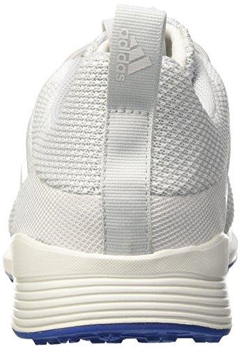 adidas Ace Tango 17.2 Tr, Botas de Fútbol para Hombre Blanco (Crystal White/silver Metallic/blue)