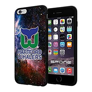 """Hartford Whalers Nebula #1841 iPhone 6 Plus (5.5"""") I6+ Case Protection Scratch Proof Soft Case Cover Protector"""