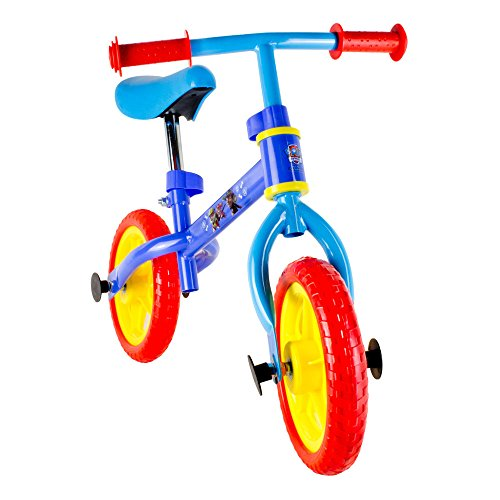 Paw Patrol Metal Balance Bike With Adjustable Handlebar & Seat