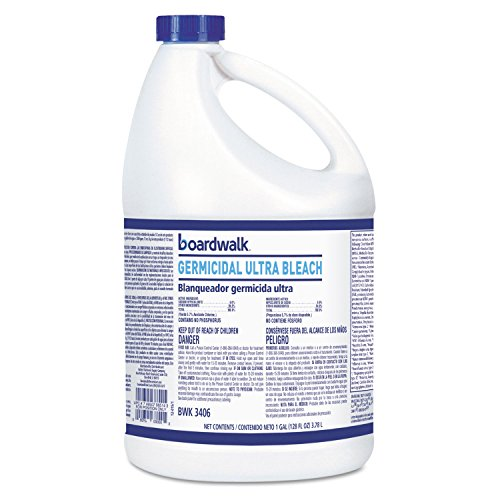 (Boardwalk 3406 Ultra Germicidal Bleach 1 Gallon Bottle 6/carton)