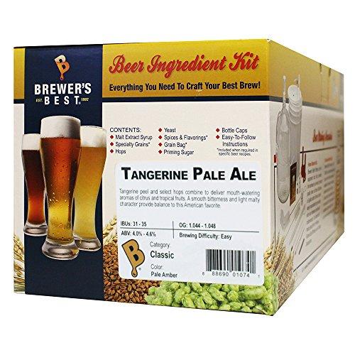 Brewer's Best Home Brew Beer Ingredient Kit - 5 Gallon (Tangerine Pale (Brew Pale)