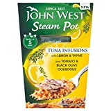 John West Steam Pot Tuna with Lemon & Thyme & Couscous (150g) - Pack of 6