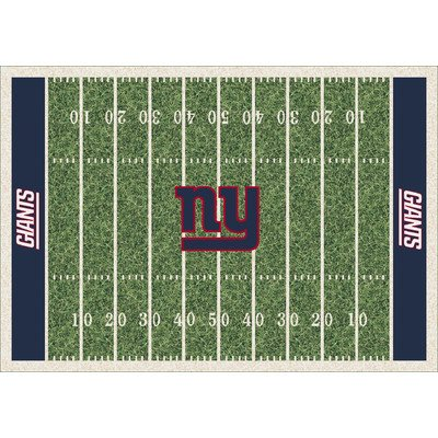 "picture of New York Giants 3'10"" x 5'4"" Premium Field Rug"