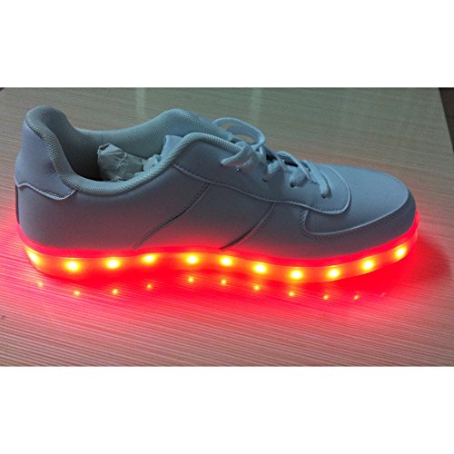 ACEVER LED Shoes Women's LED Shoes LED Sneakers Valentine's Day Gift and Prom Cosplay Sneakers (US7/EU37/UK4.5-5 forWomen) (Gifts Forwomen)