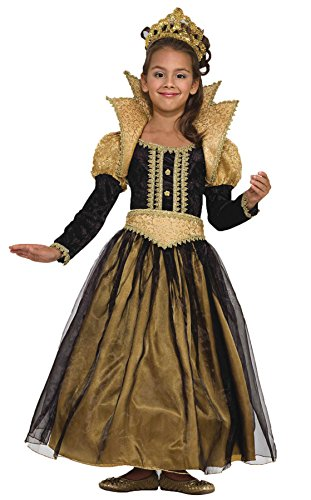 Girls Renaissance Princess Kids Child Fancy Dress Party Halloween Costume, S (Toddler Prince Fancy Dress Costume)