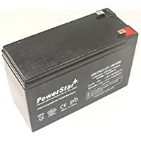 PowerStar AGM1275F2-09 Security Alarm System Battery 12V 7.5Ah Sla Security Battery