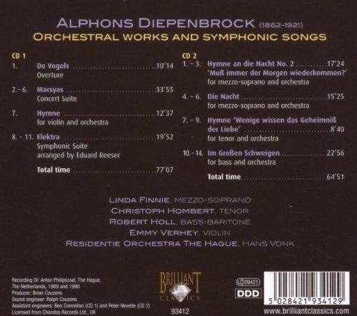 Alphons Diepenbrock (1862-1921) 51oxoTlhkNL