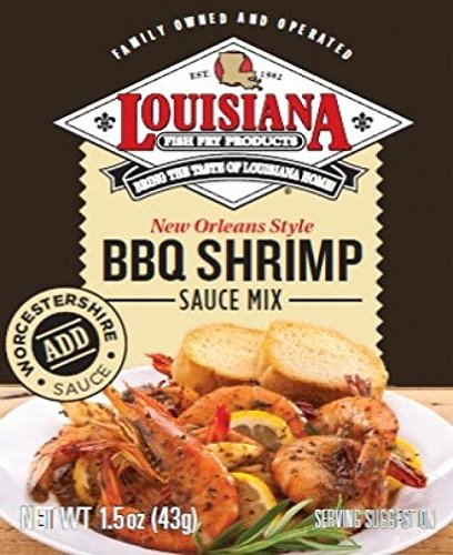 (Louisiana Fish Fry New Orleans Style BBQ Shrimp Sauce Mix 1.5oz (Qty 1) )