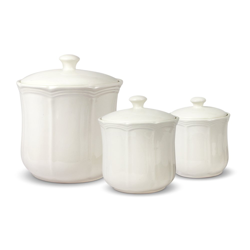 Mikasa French Countryside Canisters, Set of 3 by Mikasa