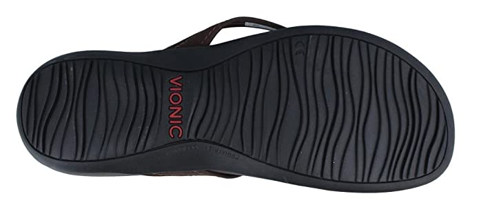 a34368ef3 Amazon.com | Vionic Women's, Rest Thistle Thong Sandals Java 11 M |  Flip-Flops