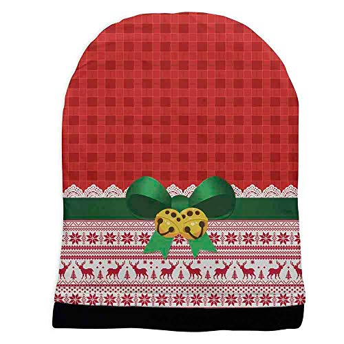 DEATU Christmas Print Hats Sale Ladies Hipsters Hat Christmas Themed Parties Hats(EB from DEATU