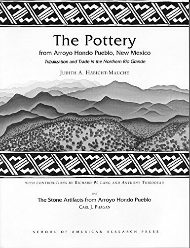 The Pottery from Arroyo Hondo Pueblo, New Mexico: Tribalization and Trade in the Northern Rio Grande (Arroyo Hondo Archaeological Series) by Judith A. Habicht-Mauche - Mall Pueblo Stores