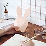 Smartcoco Lovely Rabbit Bunny LED Digital Alarm Clock Sound Night Light Thermometer USB Charge Table Wall Clock