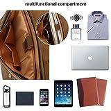 Genuine Leather Messenger Satchel Bag For Men