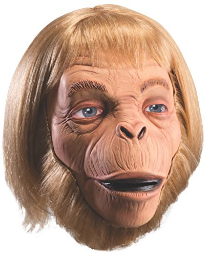 [Rubie's Costume Men's Classic Planet Of The Apes Adult Overhead Dr. Zaias Mask, Multi, One Size] (80s Movies Costumes)