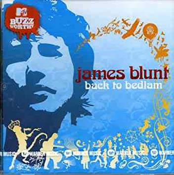 james blunt back to bedlam songs