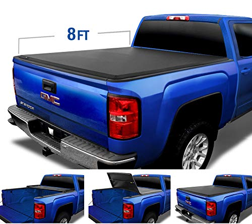 8 foot bed tonneau cover - 3