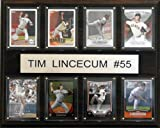 MLB Tim Lincecum San Francisco Giants 8 Card Plaque