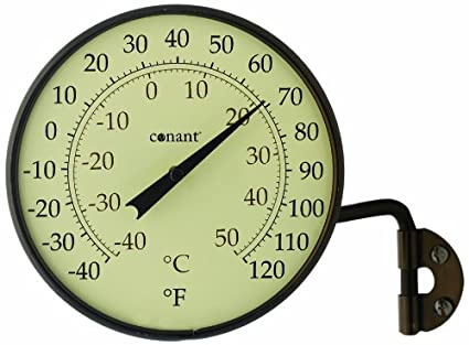 Amazon.com: CONANT T6BP Vermont Dial Thermometer, Bronze Patina ...