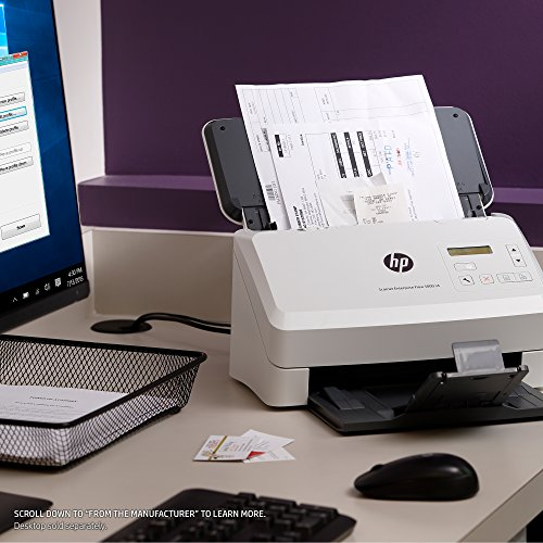 HP ScanJet Enterprise Flow 5000 s4 Sheet-feed OCR Scanner by HP (Image #9)