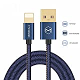Fast Charging Cable 4ft Lightning to USB Cable Denim Cowboy Style Data Cable For iPhone 7 Plus 8 6 6s 5s iPad Mini