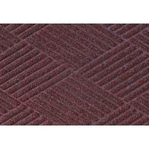 Waterhog Fashion Diamond Mat, Bordeaux 4' x (Waterhog Fashion Diamond Mat)