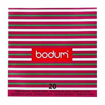 Bodum Servietten, Weihnachten, Rot / Grün / Weiß: Amazon.de: Küche ...