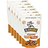 Olomomo Flavor Packed Snack Roasted/Seasoned in Small Batches, Non-GMO, Paleo, Natural, Gluten Free and Made with Organic Ingredients, Maple Masala Pecans, 4 oz., 6 Pack