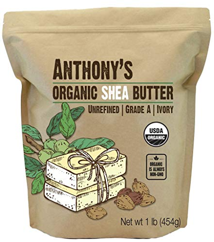 Anthonys Unrefined Organic Butter African