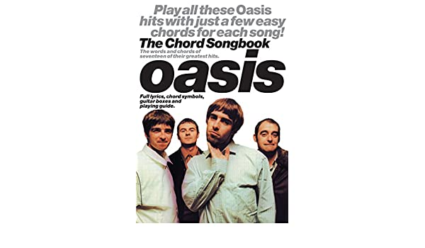 Oasis Chord Songbook Kindle Edition By Wise Publications Arts