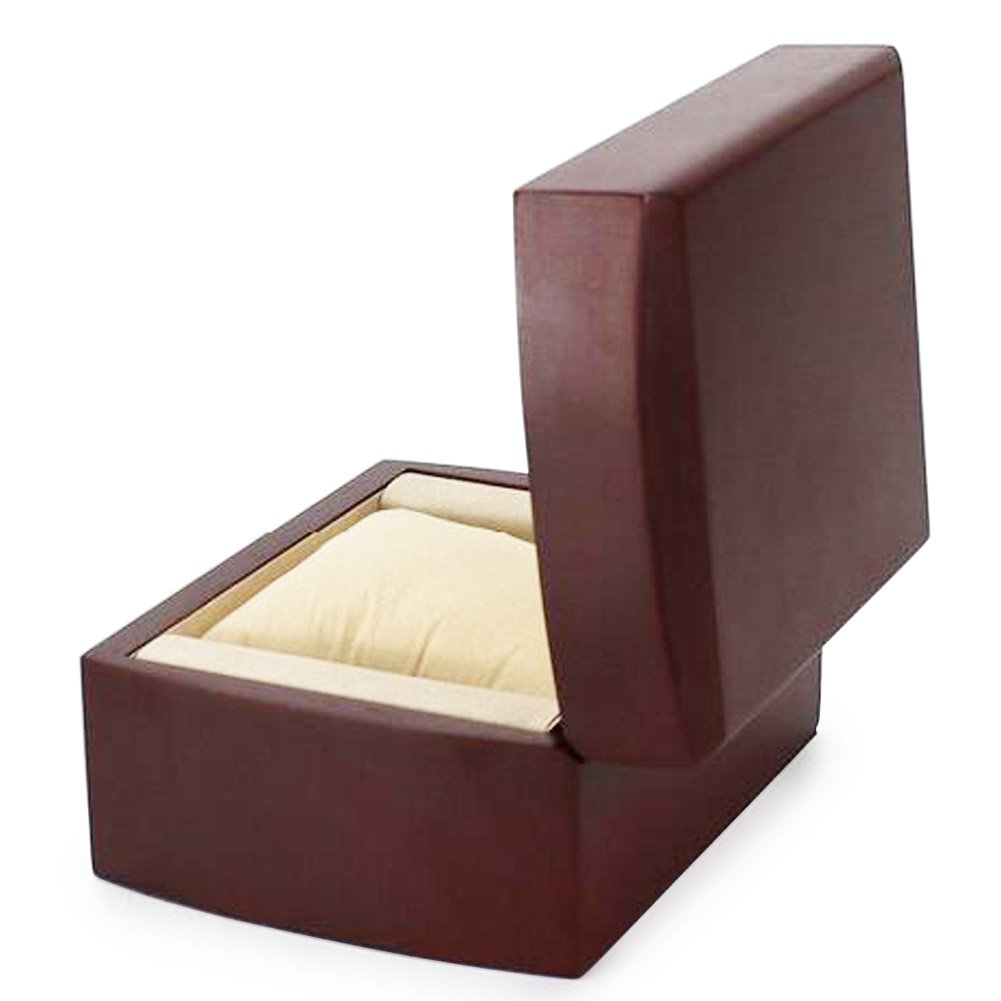 AVESON Luxury Watch Box Holder Organizer, Premium Wooden Jewelry Bracelet Storage Gift Case Single Grid by AVESON (Image #5)