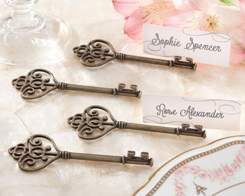140 ''Key To My Heart'' Victorian-Style Key Place Card Holders by Kateaspen