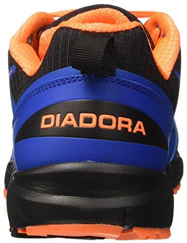 Diadora Raid 3, Zapatos para Correr para Hombre Azul (Azzurro/arancio)