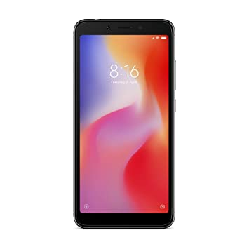 Xiaomi Redmi 6A Dual SIM 16GB 2GB RAM Black