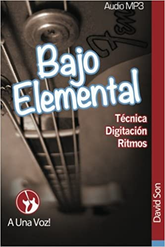 Bajo Elemental: Fundamentos del Bajo Eléctrico: Volume 1: Amazon.es: David Son, A Una Voz: Libros