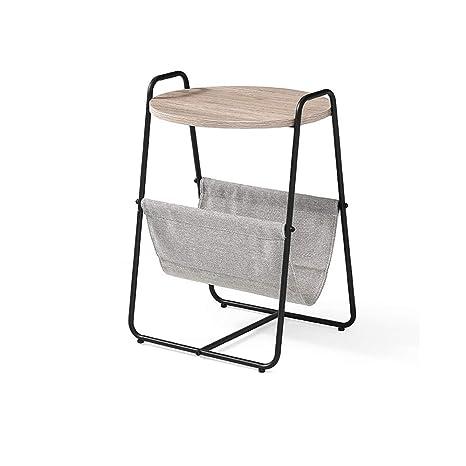Amazon.com: Mesa auxiliar de salón para sofá o dormitorio ...