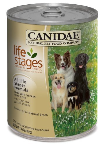 CANIDAE ALL LIFE STAGES Can Formula for Dogs, 13-Ounce by Canidae (English Manual)