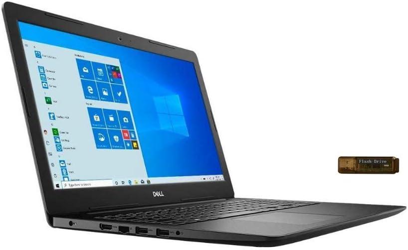 New_Dell_Inspiron_15 3000 Laptop, Intel Celeron 4205U Processor (1.8 GHz), 4GB Memory, 128GB SSD, HDMI, SD Card Reader, Bluetooth, Camera, USB Type-C, Windows 10 S w/ Santex Pro Accessory
