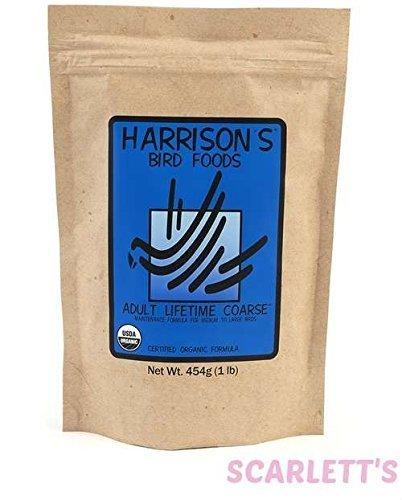Harrison's Organic Adult Lifetime Coarse 25 Lbs. by HBD International, Inc.
