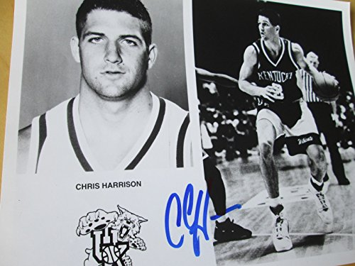 CHRIS HARRISON Show Signed Kentucky Wildcats 8x10 Photo -Guaranteed Authentic -