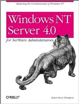 Windows NT Server 4.0 for NetWare Administrators