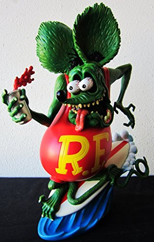 Rat Fink (Ed Roth) Statue / Surf up 30cm Figure Collection custom garage American goods American goods rat -