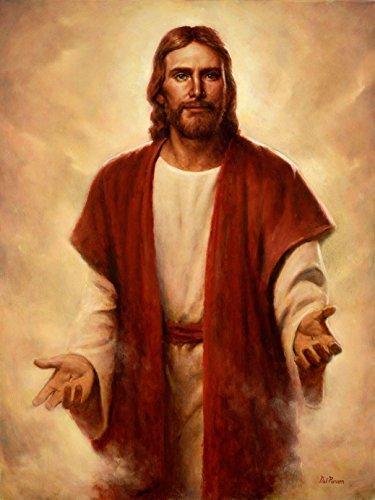 bribase shop Jesus Christ Lord Savior poster 32 inch x 24 inch/17 inch x 13 inch