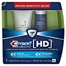 Crest Pro-Health HD Toothpaste, Teeth Whitening and Healthier Mouth via Daily Two-Step System - 4.0 Oz and 2.3 Oz Tubes