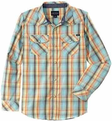 Lucky Brand Boys' Desert Woven Shirt