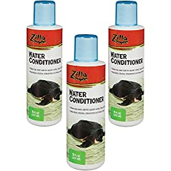 (3 Pack) Zilla Reptile Terrarium Aquatic Water Conditioner, 8-Ounce each