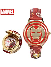 Ironman Watch For Boys and Girls | Soft Leather Strap...
